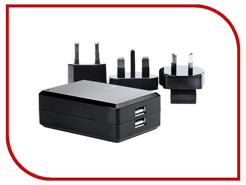 Зарядное устройство iLuv Traver Adapter Kit 2USB 1A apple world travel adapter kit md837zm a