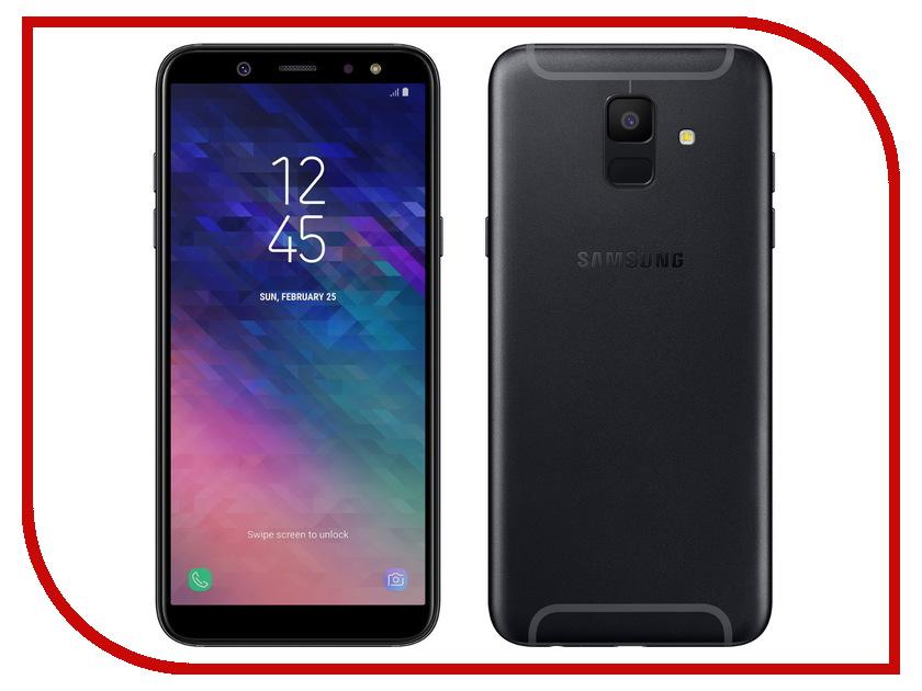 Сотовый телефон Samsung SM-A600F Galaxy A6 2018 Black
