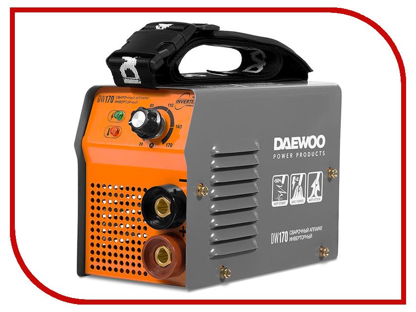 Сварочный аппарат Daewoo Power Products DW 170 стабилизатор напряжения daewoo power products dw tzm10kva