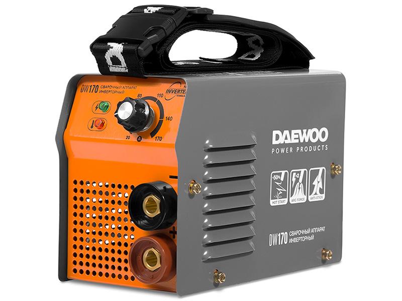 Сварочный аппарат Daewoo Power Products DW 170 сварочный аппарат foxweld корунд 170 мини