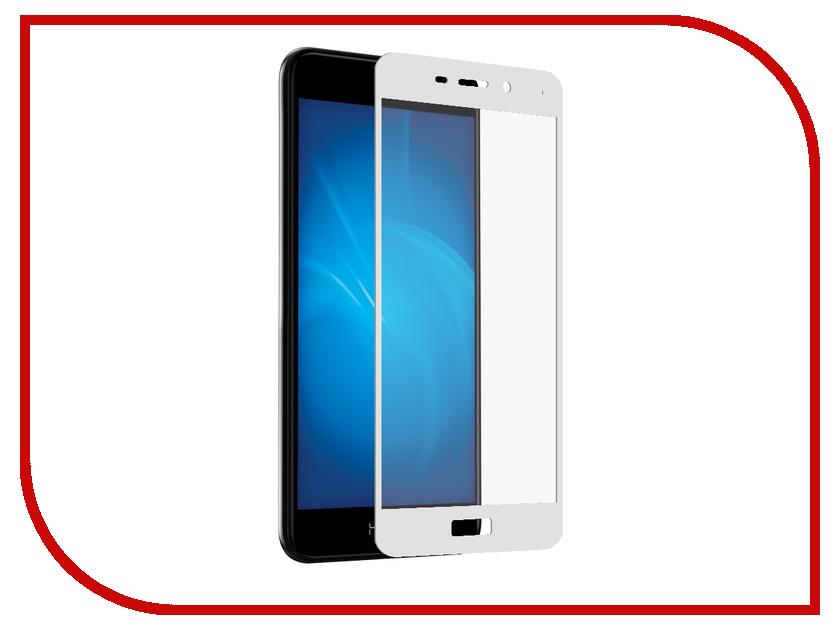Аксессуар Защитное стекло для Huawei Honor 6C Pro Gecko 5D FullScreen 0.26mm White ZS26-GHH6C-Pro-5D-WT аксессуар защитное стекло monsterskin 5d для apple iphone 6 plus white