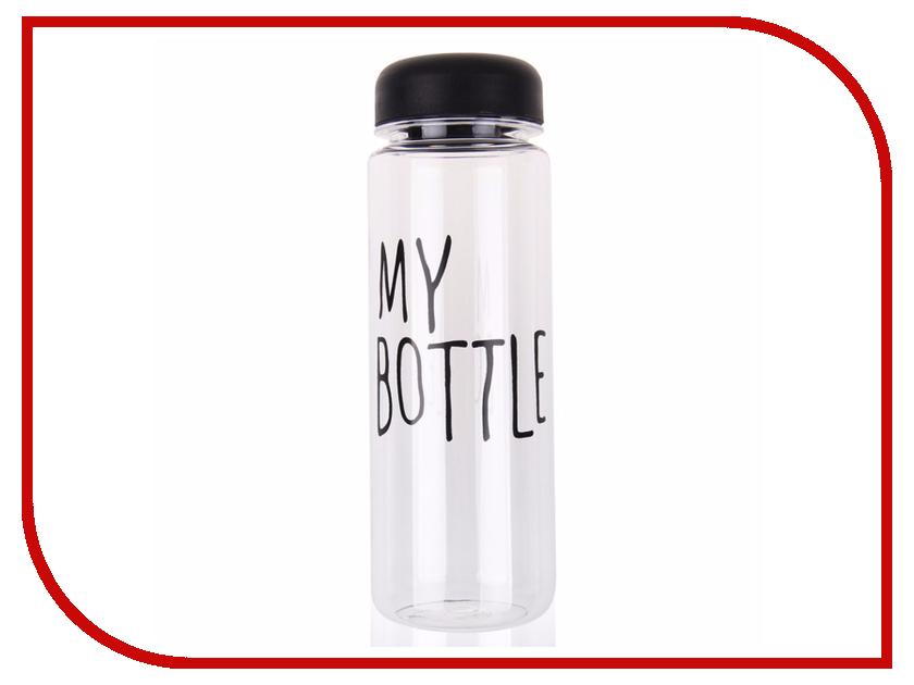 Бутылка Be First 400ml Black SN2033-TRANSP-NO