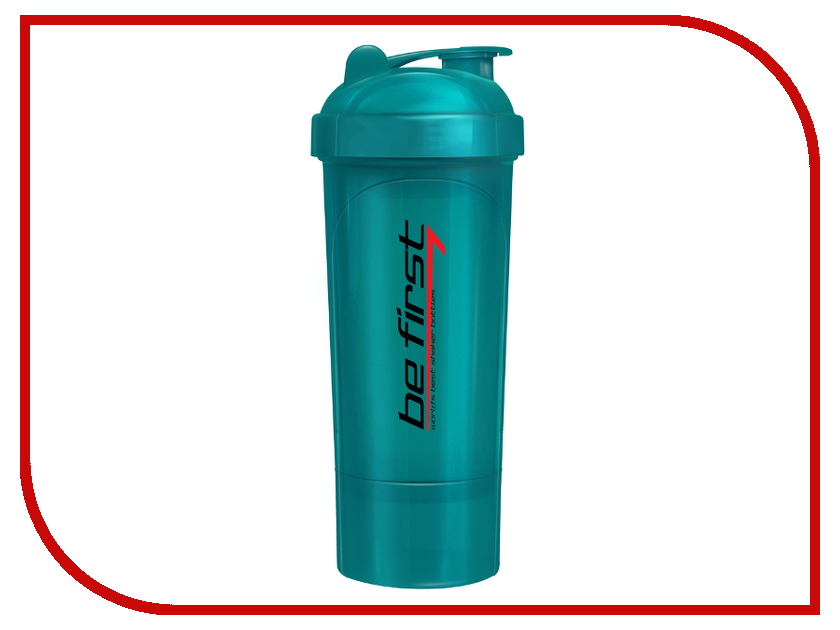 Шейкер Be First 350ml Sea Wave TS 1349-TEAL шейкер be first 350ml lime green ts 1349 gre