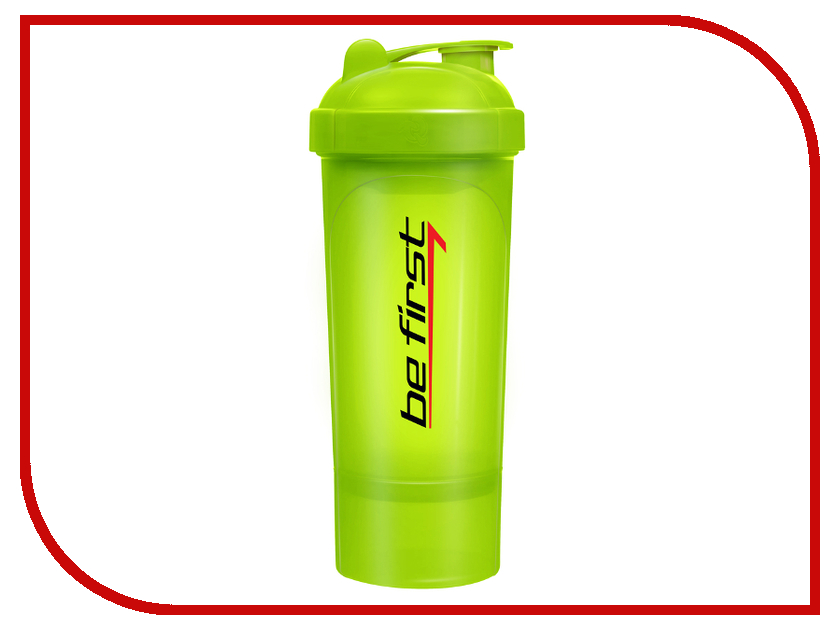 Шейкер Be First 350ml Lime Green TS 1349-GRE lacywear s 268 gre