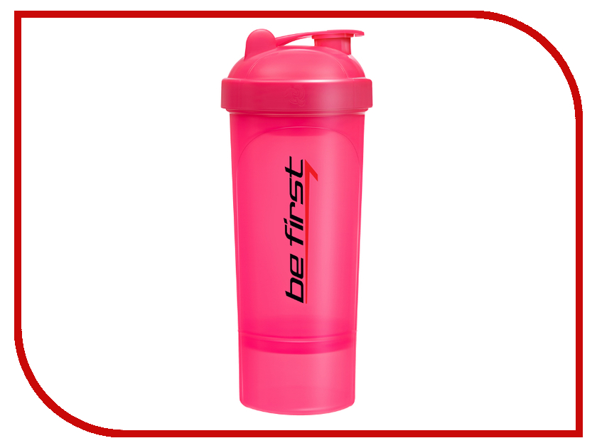 Шейкер Be First 350ml Pink TS 1349-PI
