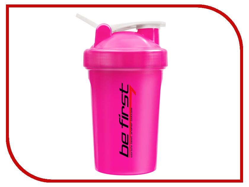 Шейкер Be First 400ml Pink TS 1358-Pink be first 300ml
