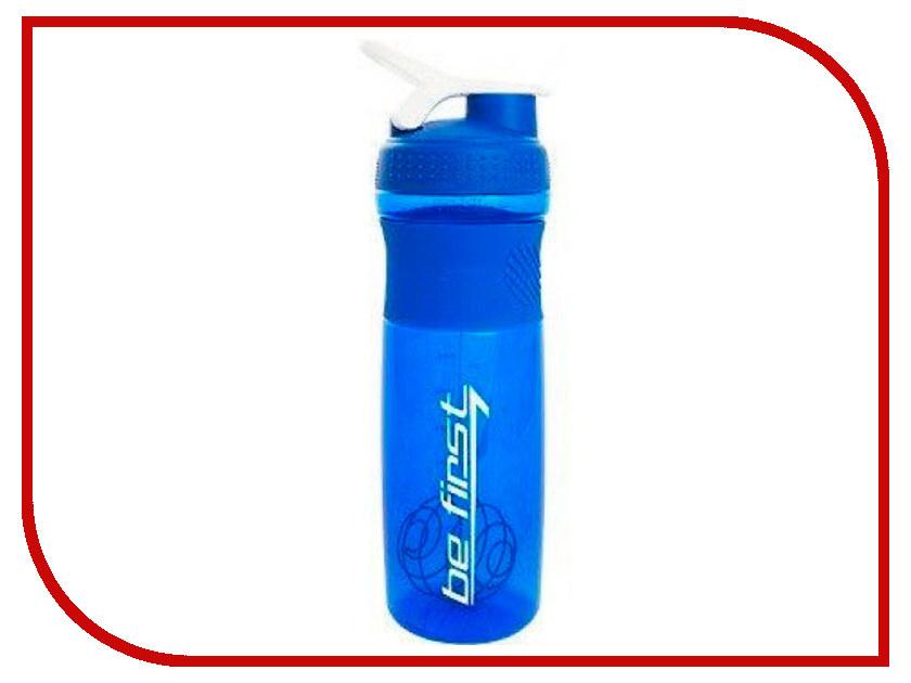Шейкер Be First 1L Blue Matte TS 501-BLU-FROST