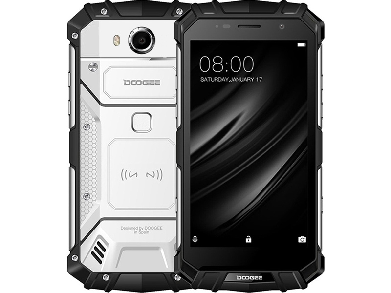 Сотовый телефон Doogee S60 Lite Moonlight Silver doogee защищенный смартфон doogee s60 lite золотой gold
