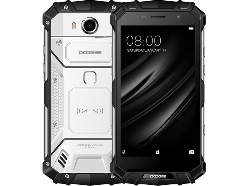 Сотовый телефон Doogee S60 Lite Moonlight Silver