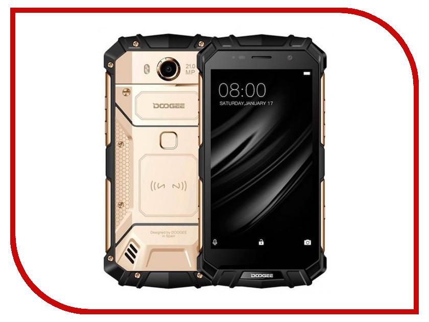 Сотовый телефон DOOGEE S60 Lite Sunset Gold сотовый телефон lg d724 g3 s black gold