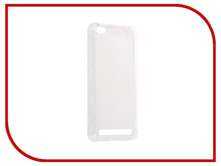 Аксессуар Чехол-накладка для Xiaomi Redmi 5A Gecko Силиконовый White S-G-SV-XIR5A-WH