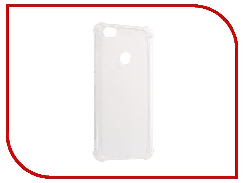 Аксессуар Чехол-накладка Xiaomi Redmi Note 5A Gecko Силиконовый White S-G-SV-XIRNOT5A-WH аксессуар чехол nokia 230 230 dual sim gecko transparent glossy white s g nok230 wh