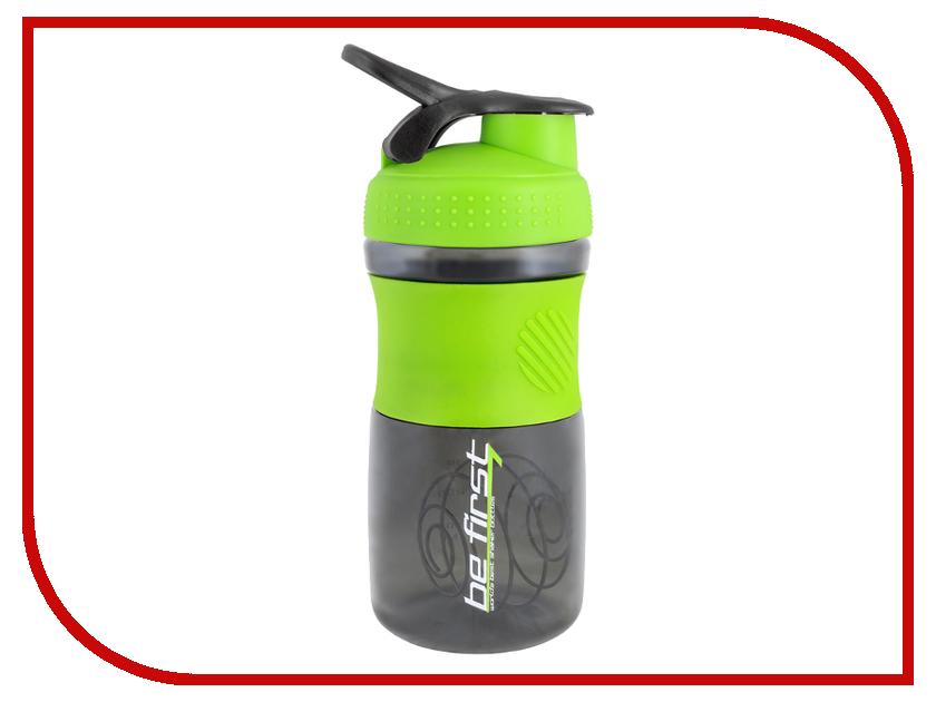 Шейкер Be First 600ml Black-Lime Green TS 301-BLA-LIM шейкер be first 350ml lime green ts 1349 gre