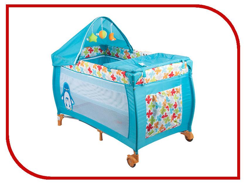 Манеж-кровать Capella S10-8 Blue велосипед для малыша capella s 903 blue
