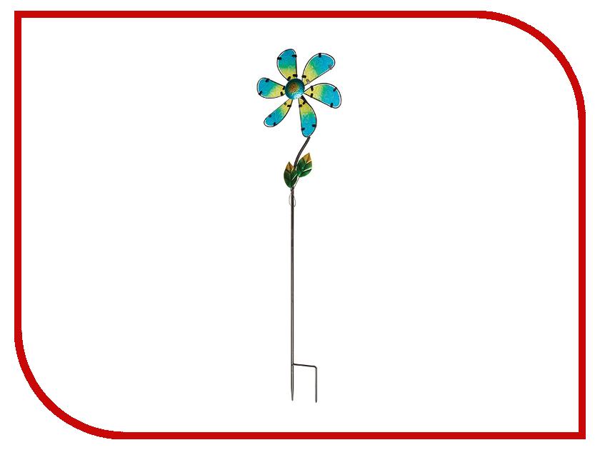 Штекер-флюгер садовый Gardman Glass Flower 92cm Green 07939