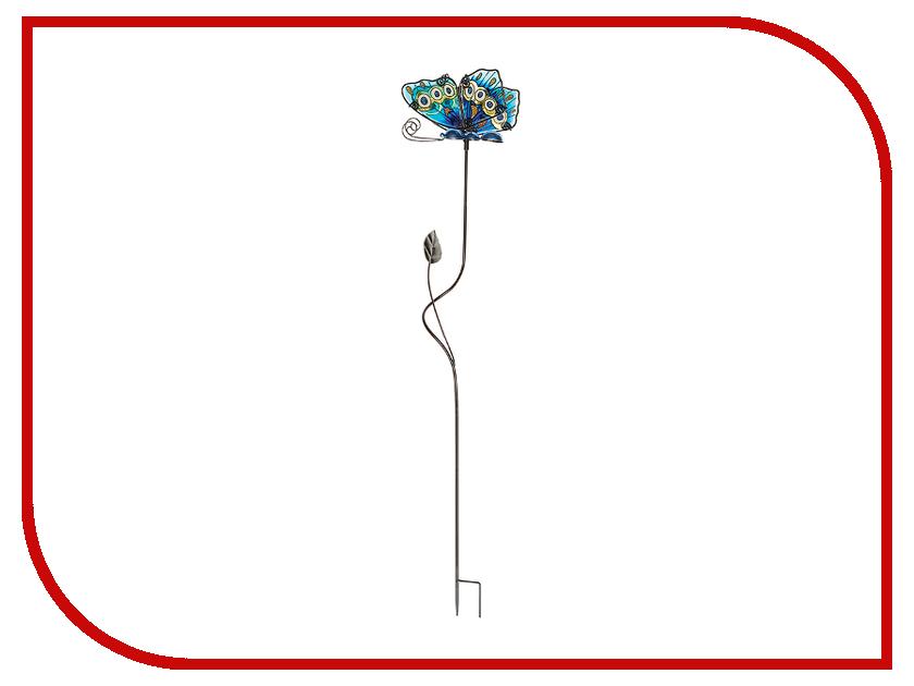 Штекер садовый Gardman Glass Butterfly 75cm Blue 09774 декор настенный gardman butterfly 12 5 х 16 5 см