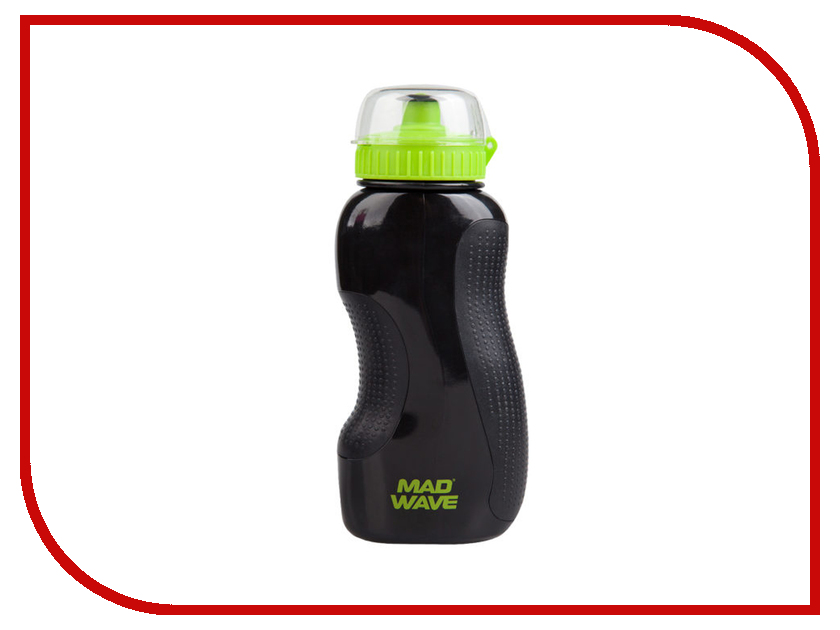 Бутылка Mad Wave Water Bottle 1L Green M1390 01 0 10W bouffant natural wave short synthetic fashion green highlight capless adiors wig for women