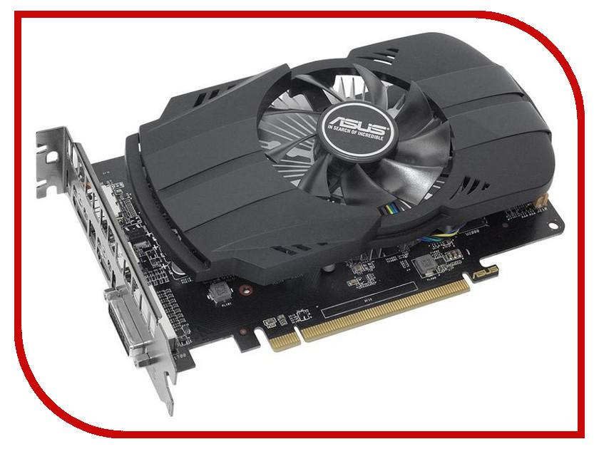 Видеокарта ASUS Radeon RX 550 1183Mhz PCI-E 3.0 4096Mb 7000Mhz 128 bit DVI HDMI HDCP видеокарта asus 4096mb rx 560 strix rx560 o4g evo gaming dvi dp hdmi ret