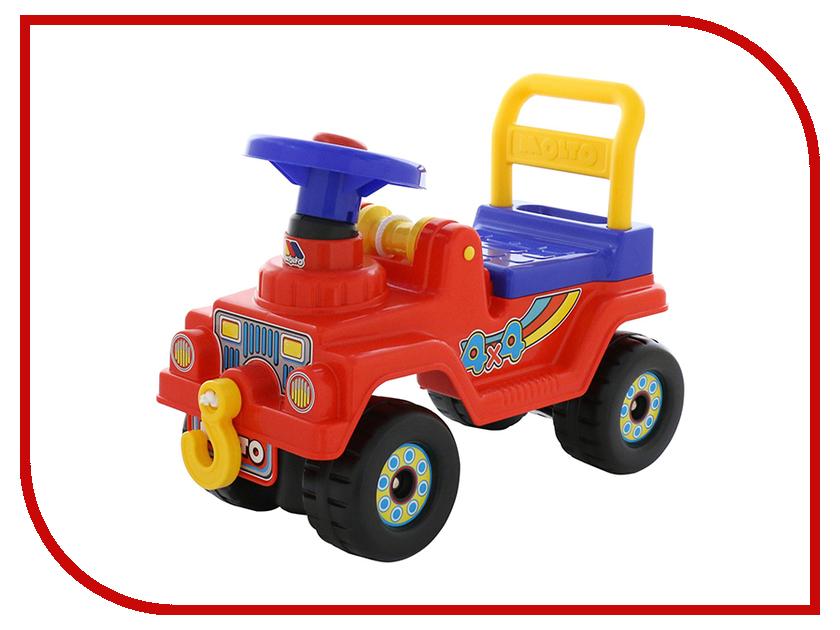 Каталка Полесье Джип 4х4 - №2 Red 62826