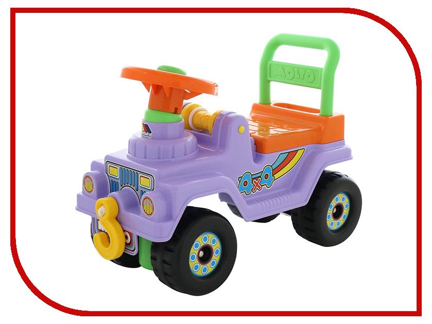 Каталка Полесье Джип 4х4 - №2 Purple 62833