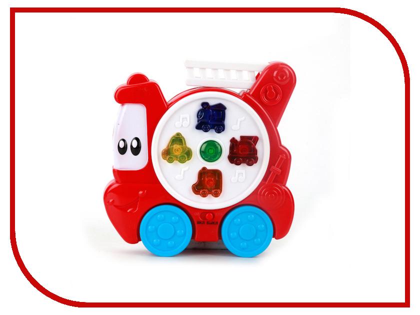 Игрушка Умка Пожарная машинка B1294973-R развивающая игрушка умка пожарная машинка со стихами м дружининой