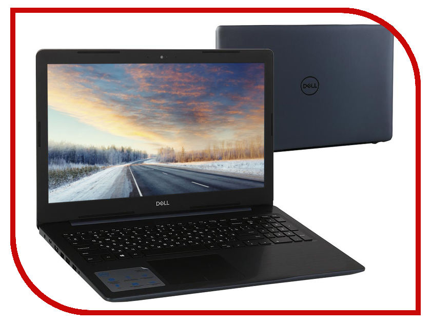 Ноутбук Dell Inspiron 5570 5570-7789 (Intel Core i3-6006U 2.0 GHz/4096Mb/1000Gb/DVD-RW/AMD Radeon 530 2048Mb/Wi-Fi/Cam/15.6/1920x1080/Linux) dell inspiron 3558