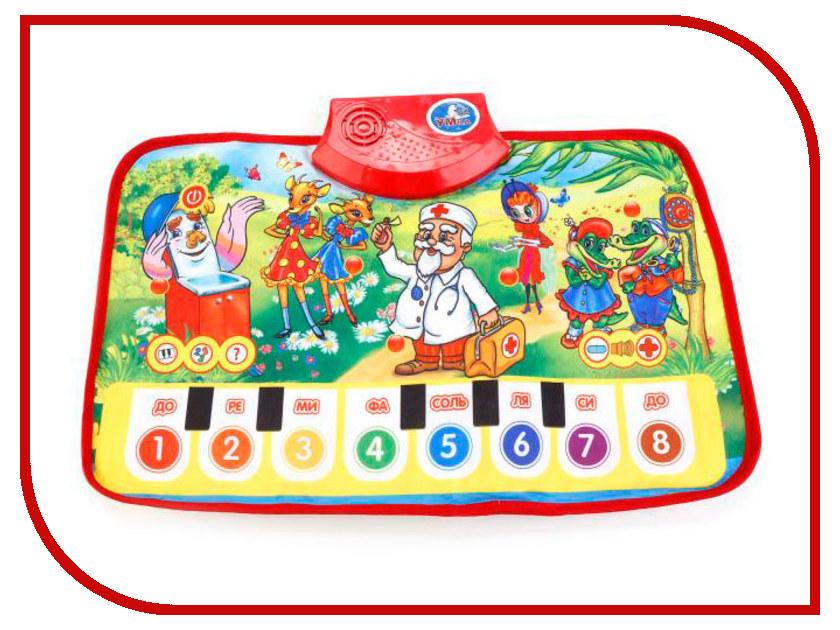Танцевальный коврик Умка Стихи К. Чуковского HX05013-A-R4 игрушка умка часы сказки с проекцией b1266129 r4 250286