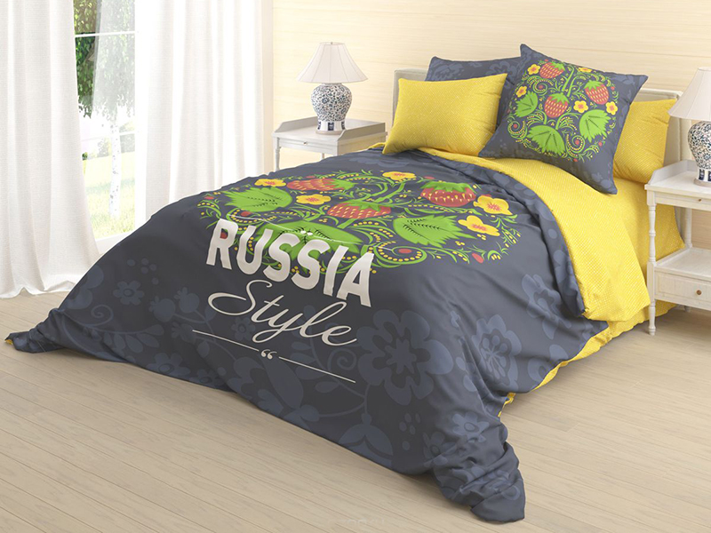 Постельное белье Волшебная Ночь Алярус Ivan-Da-Maria Комплект 1.5 спальный Ранфорс 718550 постельное белье волшебная ночь алярус ivan da maria комплект евро ранфорс 718554