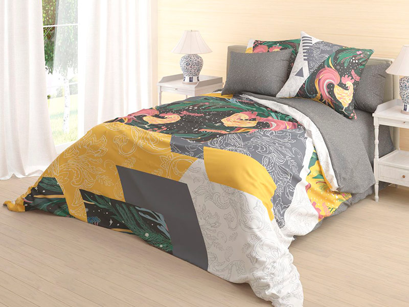 Постельное белье Волшебная Ночь Алярус Zarya Комплект 1.5 спальный Ранфорс 718617