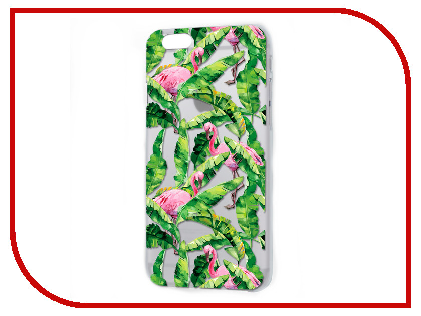 все цены на Аксессуар Чехол iPapai Флора Тропики Silicone для APPLE iPhone 7 120508_7