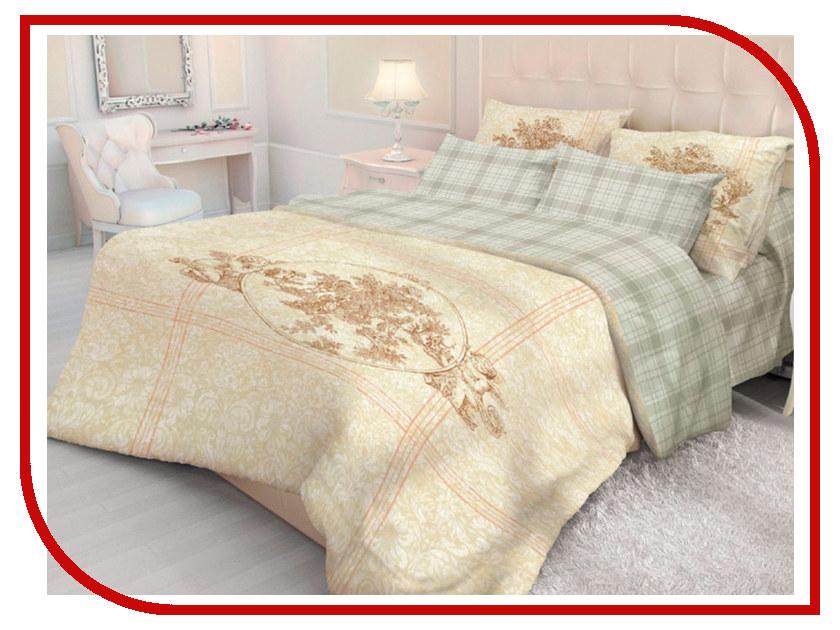 Постельное белье Волшебная Ночь Версаль Crown Комплект 1.5 спальный Ранфорс постельное белье эго комплект 1 5 спальный полисатин