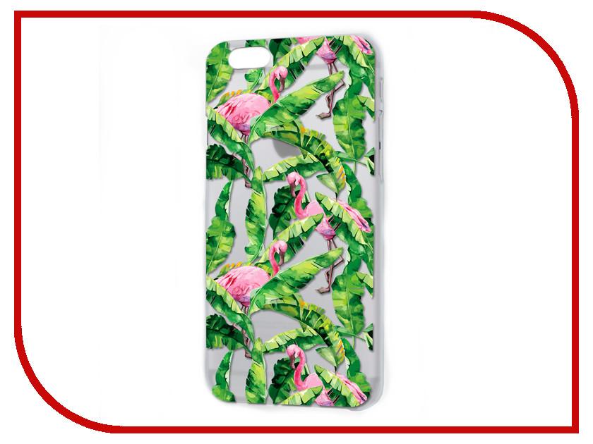 Аксессуар Чехол iPapai Флора Тропики Silicone для APPLE iPhone 5/5S 120508_5 аксессуар чехол ipapai ассорти сладости silicone для apple iphone 7 120120 7