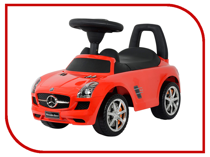 Каталка Чилокбо Mercedes-Benz SLS AMG C197 (Z332) со звуковыми эффектами Red отвертка stanley cushion grip шлиц 5х100 мм 0 64 916