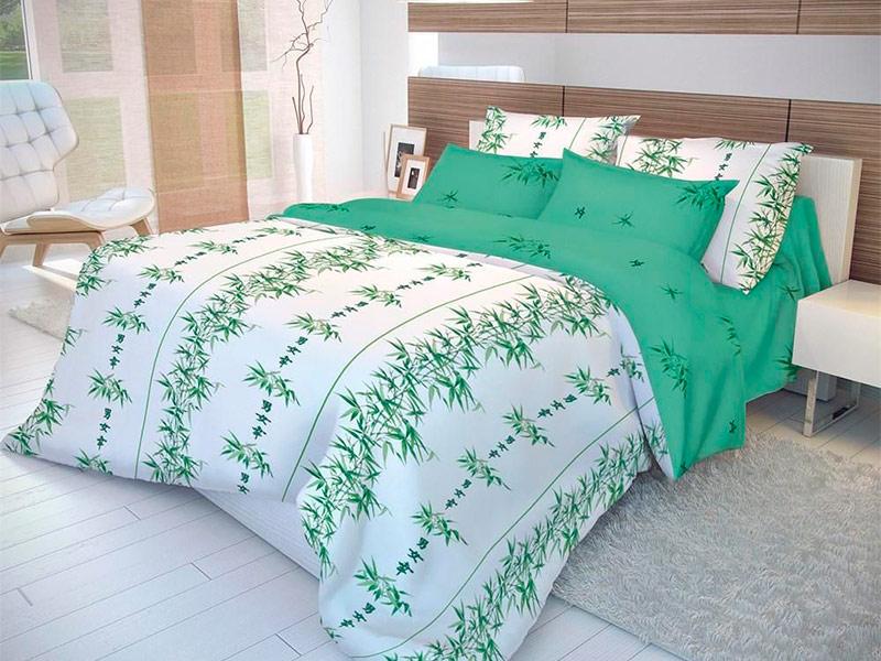 Постельное белье Волшебная Ночь Восток Бамбук Комплект 1.5 спальный Ранфорс 183786