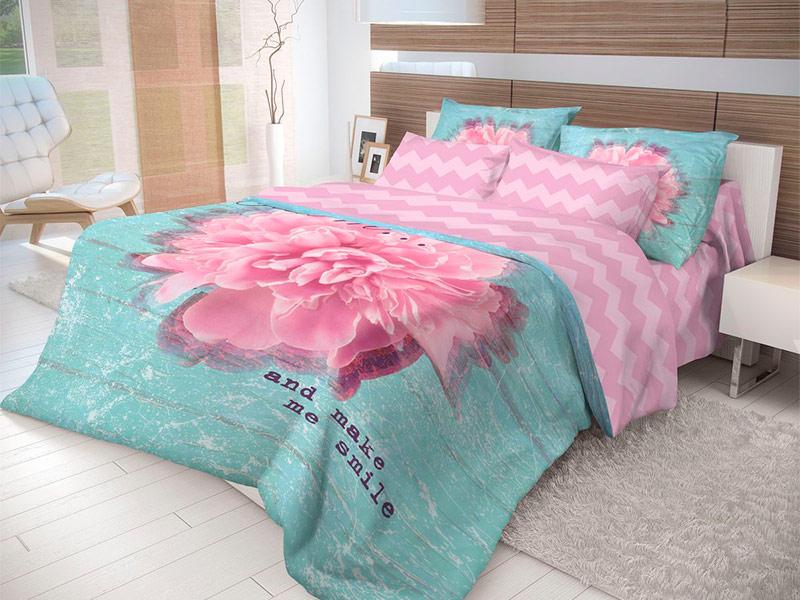 Постельное белье Волшебная Ночь Лофт Bloom Комплект 1.5 спальный Ранфорс 704286