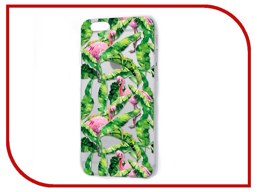 Аксессуар Чехол iPapai Флора Тропики для APPLE iPhone 7 120508_7 аксессуар чехол ipapai животные фламинго для apple iphone 7 120177 7