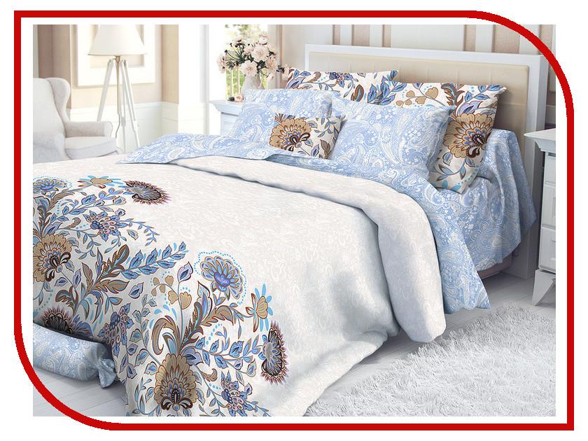 Постельное белье Verossa Ivy Комплект Евро Сатин 719560 постельное белье экзотика кензо комплект евро сатин