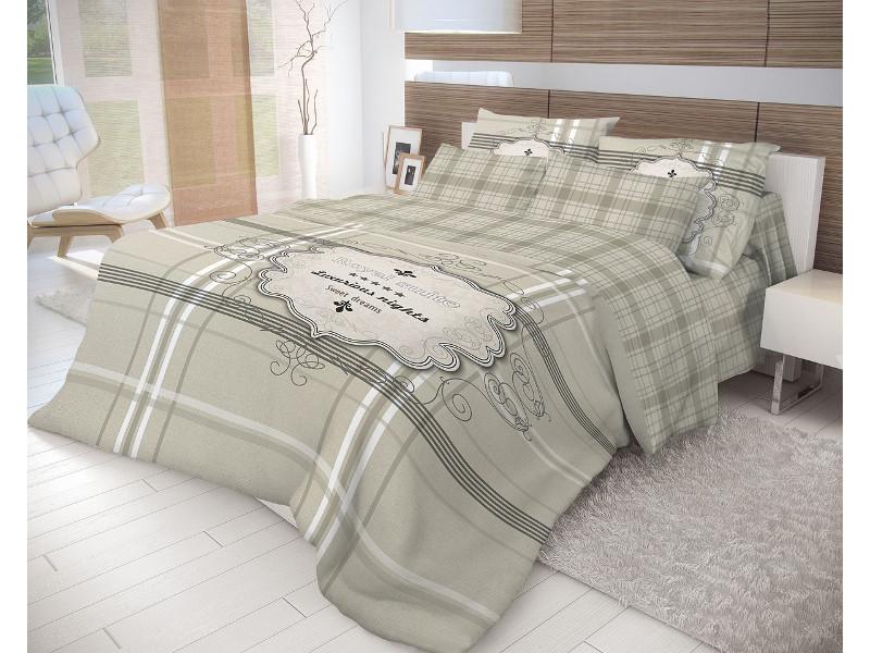 Постельное белье Волшебная Ночь Лофт Royal Suite Комплект 1.5 спальный Ранфорс 702208 цена и фото