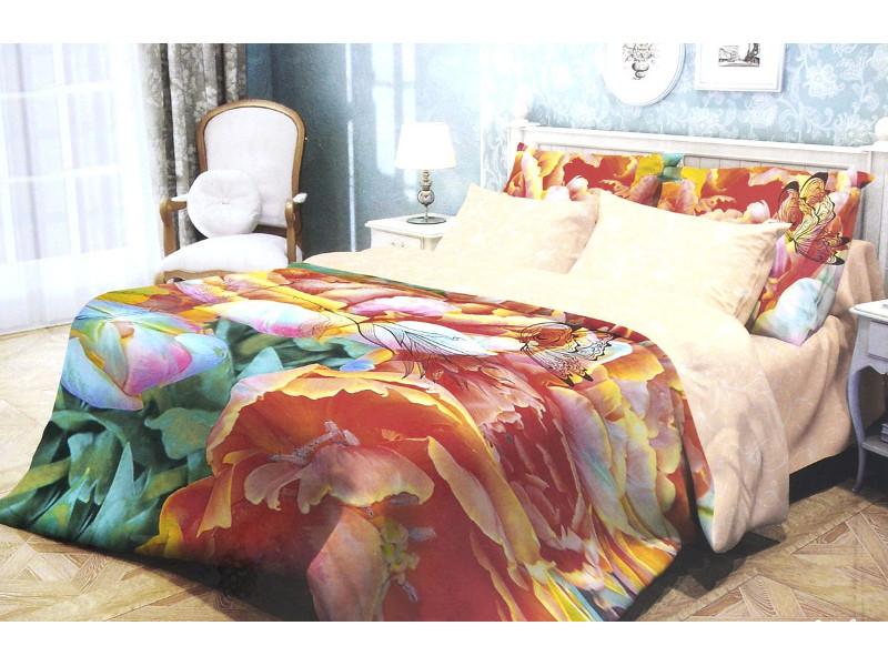 Постельное белье Волшебная Ночь Прованс Butterfly Комплект 1.5 спальный Ранфорс 702128