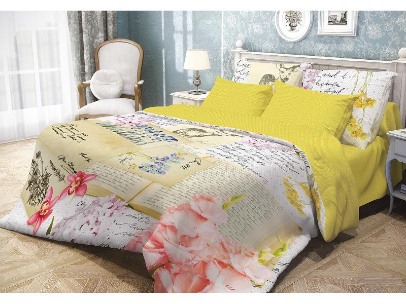 Постельное белье Волшебная Ночь Прованс Debby Комплект 1.5 спальный Ранфорс 704256