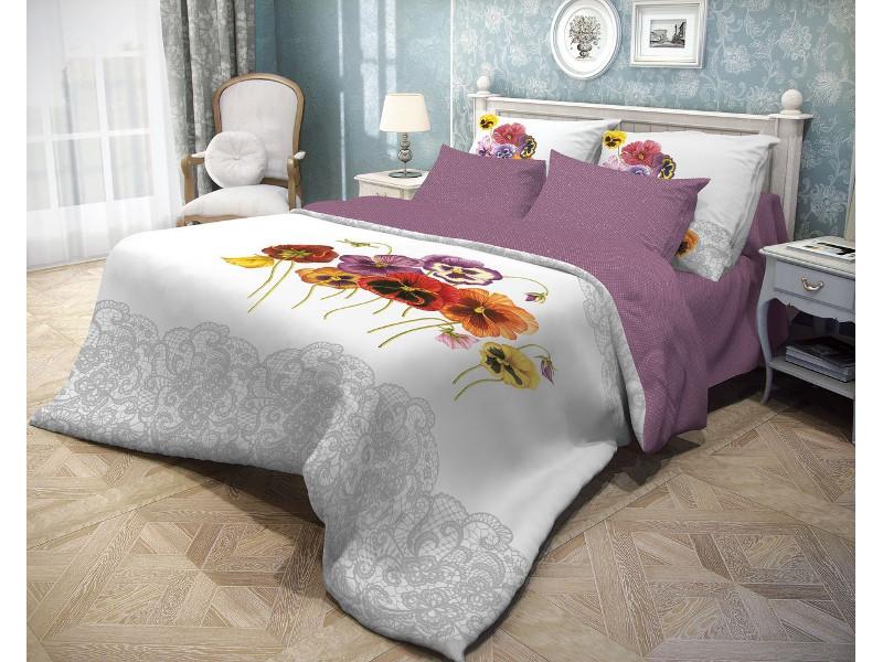Постельное белье Волшебная Ночь Прованс Fialki Комплект 1.5 спальный Ранфорс 701929