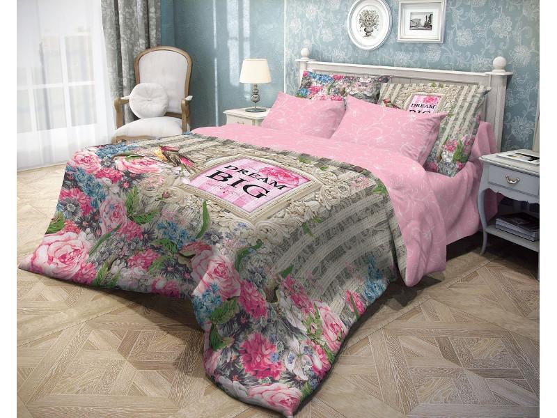 Постельное белье Волшебная Ночь Прованс Flora Комплект 1.5 спальный Ранфорс 703933