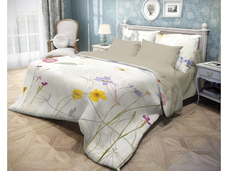 Постельное белье Волшебная Ночь Прованс Meadow Комплект 1.5 спальный Ранфорс 706766