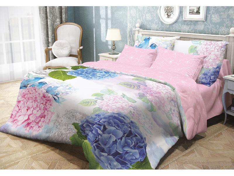 Постельное белье Волшебная Ночь Прованс Spring Melody Комплект 1.5 спальный Ранфорс 704262 недорого