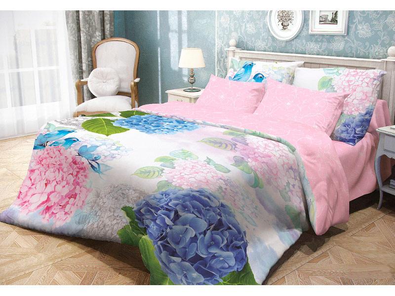 Постельное белье Волшебная Ночь Прованс Spring Melody Комплект 1.5 спальный Ранфорс 704263