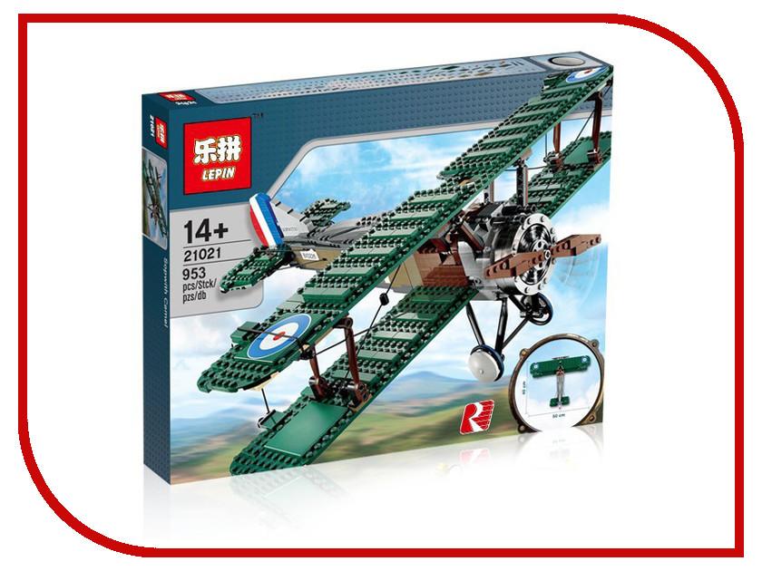 Конструктор Lepin Истребитель Sopwith Camel 21021 конструктор lepin star plan республиканский истребитель 471 дет 05041