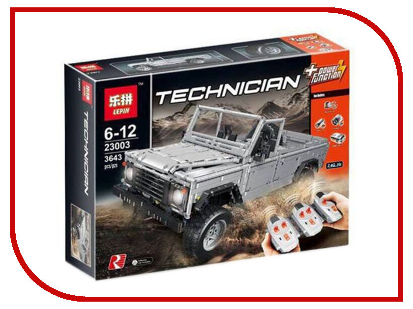 Конструктор Lepin Technic Land-Rover Defender 110 Preview 23003