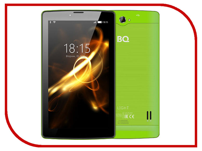 Планшет BQ 7083G Light Green