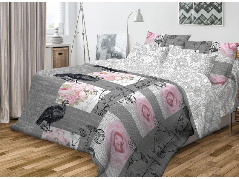 Постельное белье Волшебная Ночь Фьюжн Coco Комплект 1.5 спальный Ранфорс 701975
