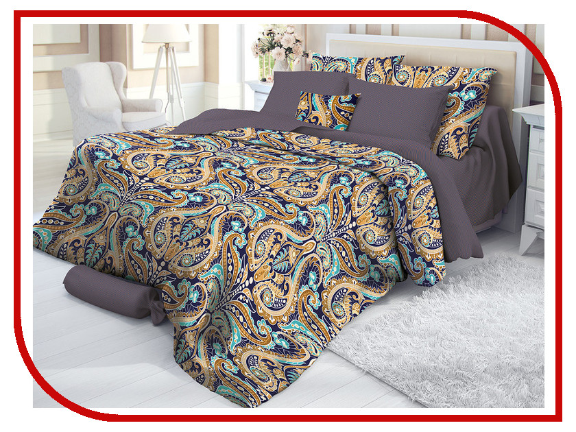 Постельное белье Verossa Deria Комплект 1.5 спальный Сатин 719495 постельное белье verossa taurit комплект 1 5 спальный сатин 719512